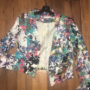Jackets & Blazers - Floral blazer used but still has left